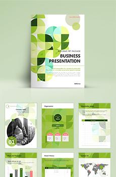 <b>브로슈어형</b> 건설, 부동산 회사전용 PPT 패키지(회사소개서, 보고서, 제안서, 기획서, 심플)