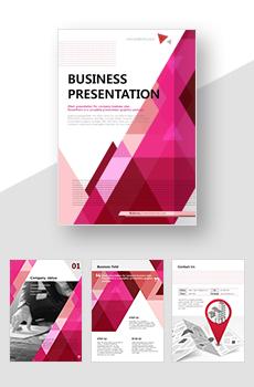 <b>브로슈어형</b> 도소매, 무역, 유통, 운송3 회사전용 PPT 패키지(회사소개서, 보고서, 제안서, 기획서, 심플)