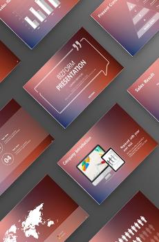 스티브잡스형 회사소개서3 PPT 패키지(회사소개서, 회사조직도, 제조업회사소개서, 기본회사소개서)