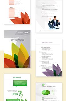 아웃소싱, HR, 파견5 파워포인트 디자인(제안서, 회사소개서, 기획서, 브로슈어, 상품소개서 디자인)